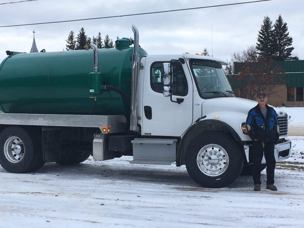 New Vac Truck for Municipality